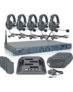 DX410 Digital Wireless Intercom SET