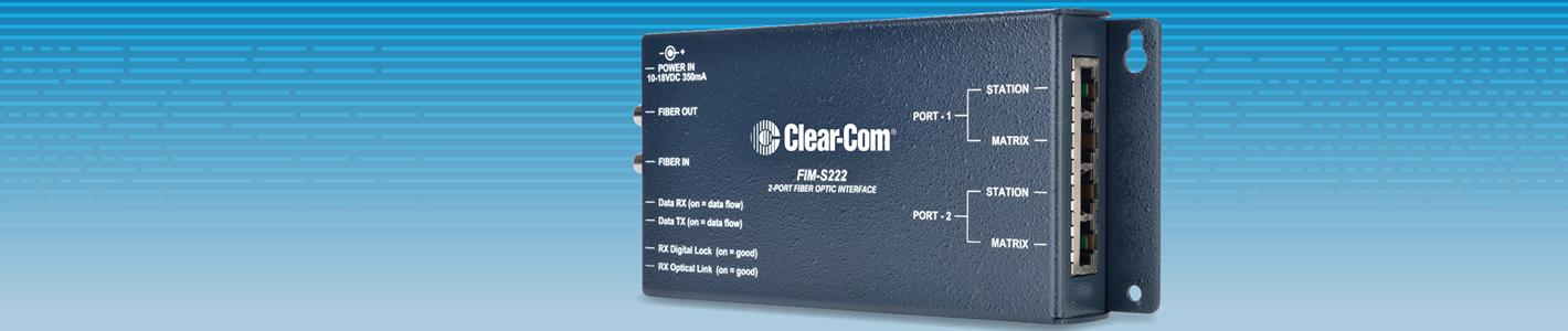FIM Optical Fiber Interface